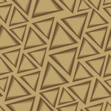 Seamless pattern with triangles Royalty Free Stock Images