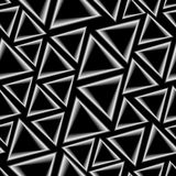 Seamless pattern with triangles Stock Photography