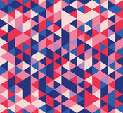 Seamless pattern triangles Stock Image