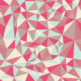 Seamless pattern of triangles. EPS8 illustration Stock Image