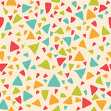 Seamless pattern with triangles. Geometric background Stock Photography