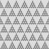 Seamless pattern of triangles. Unusual lattice. Geometric backgr. Ound. Vector illustration. Good quality. Good design royalty free illustration