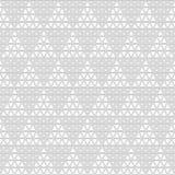 Seamless pattern of triangles. Unusual lattice. Geometric backgr. Ound. Vector illustration. Good quality. Good design stock illustration