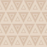Seamless pattern with triangles Royalty Free Stock Image