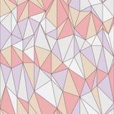 Seamless pattern with triangular grid Stock Photos