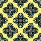 Seamless Pattern Tribal Design Stock Photography