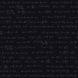 Seamless pattern with trigonometric formulas Stock Photos