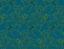 Seamless pattern with tulips royalty free illustration