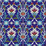 Seamless pattern . Turkish, Moroccan, Portuguese tiles, Azulejo, ornaments. Islamic Art. vector illustration