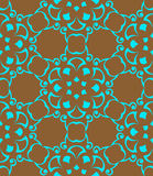 Seamless pattern.Turquoise color Royalty Free Stock Photography