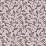 Seamless pattern. Twisted branches with oak leaves. Stock Image