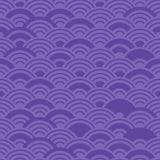 Seamless pattern ultraviolet purple violet circles print, Geo hipster backdrop modern trendy Geometric abstract background. Can be. Used for fabrics, wallpapers stock illustration