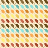 Seamless pattern with umbrellas in retro style Royalty Free Stock Photos