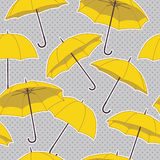 seamless pattern with umbrellas. Vector seamless pattern with umbrellas Royalty Free Stock Photography