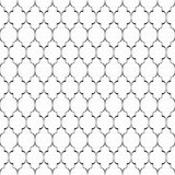 Seamless pattern. Unusual lattice. Geometric vintage background. Stock Photography