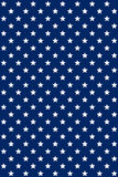 Seamless pattern USA flag colors. Blue background Stock Photography