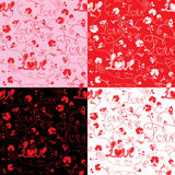 Seamless pattern for Valentine`s Day Royalty Free Stock Images