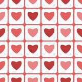 Seamless pattern  for Valentine's Day Stock Image