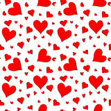 Seamless pattern for Valentines Day Royalty Free Stock Images