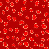 Seamless Pattern Valentines Day Royalty Free Stock Photos