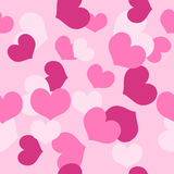 Seamless Pattern Valentines Day Stock Photography