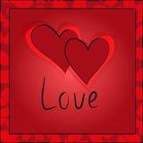 Seamless pattern Valentines day Stock Photos