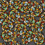 Seamless pattern. Varicolored seamless pattern with gemstones Stock Photography