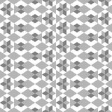 Seamless pattern with various geometrical figures. Stock Photography