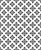 Seamless Pattern (Vector). Black & White vector seamless pattern Stock Photography