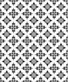 Seamless Pattern (Vector). Black & White vector seamless pattern royalty free illustration