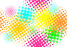 Seamless pattern, vector. Halftone effect, illusion of the gradient vector illustration