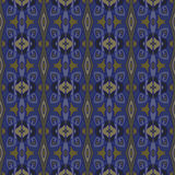 Seamless pattern. Vector background texture. Blue, sapphire, navy, drab colors. Stock Photography