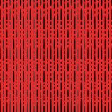 Seamless pattern. Vector black vertical dashed lines seamless pattern on red stock illustration