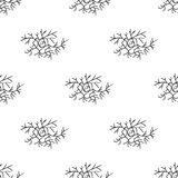 Seamless pattern vector. Branches net. eps 10 Stock Photography