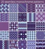25 seamless pattern. Stock Photos