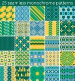 25 seamless pattern. Stock Photo