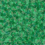 Seamless pattern Vector green clover background Stock Photo