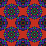 Seamless pattern vector illustration Royalty Free Stock Image