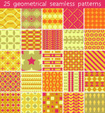 25 seamless pattern. Vector seamless pattern. Royalty Free Stock Images
