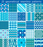 25 seamless pattern. Vector seamless pattern. Royalty Free Stock Image