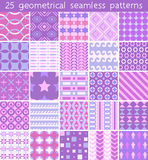 25 seamless pattern. Vector seamless pattern. Endless texture can be used for printing onto fabric, paper or scrap booking, wallpaper, pattern fills, web page Stock Image
