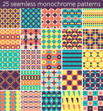 25 seamless pattern. Vector seamless pattern. Royalty Free Stock Photo