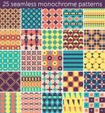 25 seamless pattern. Vector seamless pattern. Royalty Free Stock Photo