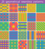 25 seamless pattern. Vector seamless pattern. Royalty Free Stock Photography