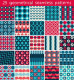 25 seamless pattern. Vector seamless pattern. Stock Photo