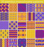 25 seamless pattern. Vector seamless pattern. Stock Images