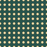 Seamless pattern vector with yellow polka dots on green color background For desktop wallpaper, web design, cards, invitations, we. Dding or baby shower albums Stock Images