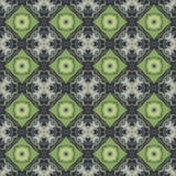 Seamless pattern with vegetal motives. Stock Images