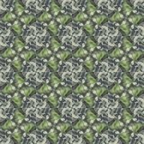 Seamless pattern with vegetal motives. Royalty Free Stock Photos