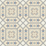 Seamless pattern with Victorian motives. Stock Images